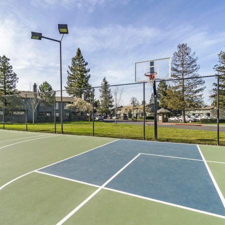 Petaluma Apartment Tennis Court - The Vineyard