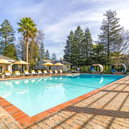 Petaluma Apartment Swimming Pool - The Vineyard