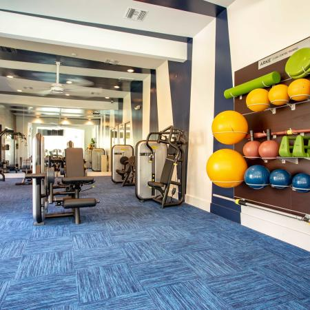 Grandeville at River Place Interior | Fitness Center | Workout equipment