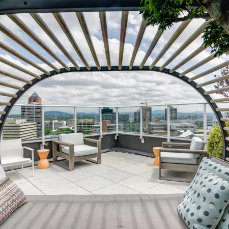 Portland Apartment Rooftop Lounge - Vue Apartments