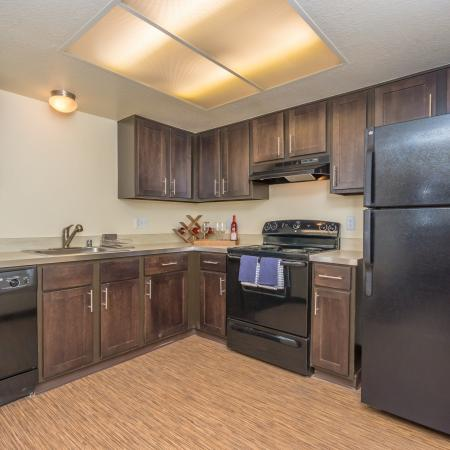 Citrus Heights Apartment Kitchen - Montage