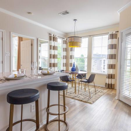 Dining Area At Jefferson at Westtown