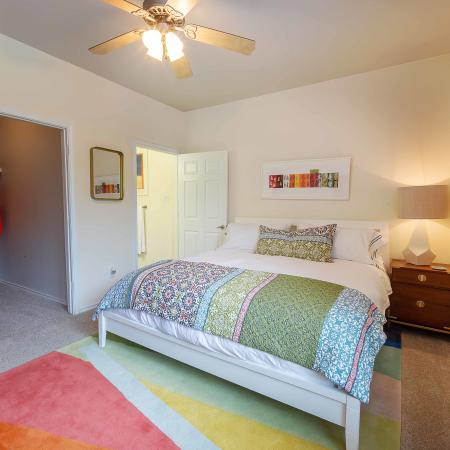 Furnished Bedroom At Jefferson at Westtown