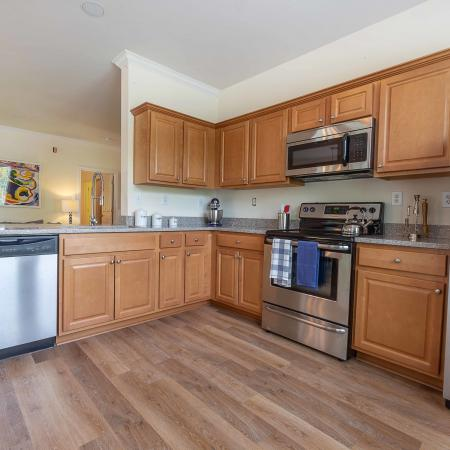 Kitchen And Appliances At Jefferson at Westtown