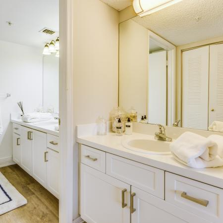 Boca Raton Apartment Bathroom