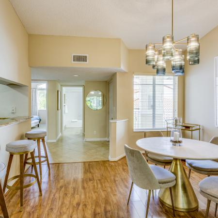 Boca Raton Apartment Dining Area