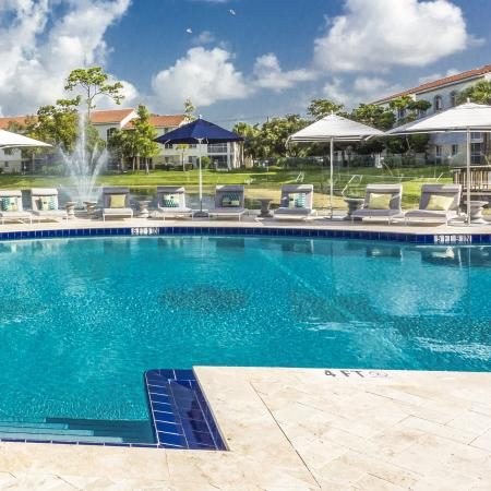 Boca Raton Apartment Swimming Pool