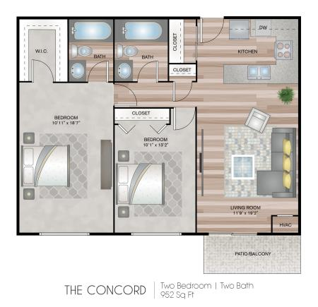 Concord Tower - Affordable