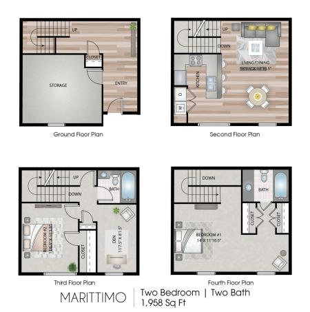 Marittimo  Townhome