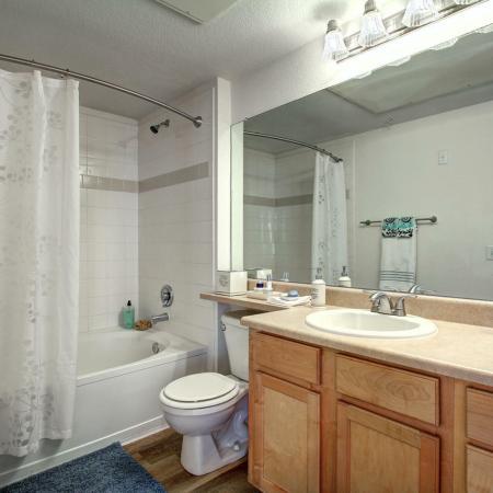 Parker Apartment Bathroom - Briargate On Main