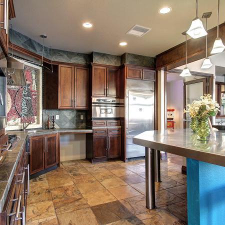 Parker Apartment Kitchen Area - Briargate On Main