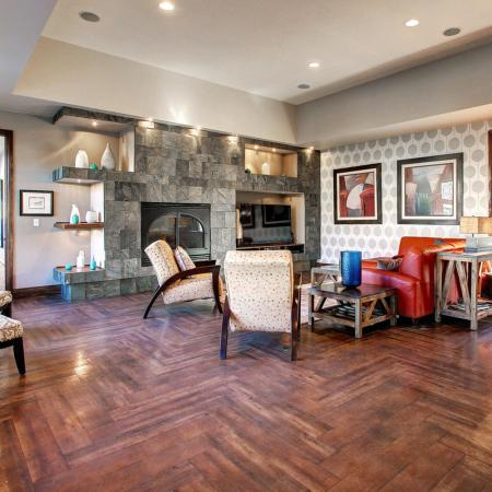 Parker Apartment Resident Lounge - Briargate On Main