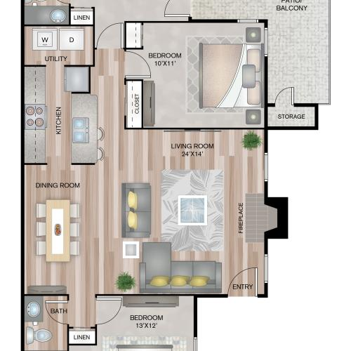 Eagle\'s Point Apartments at Tampa Palms