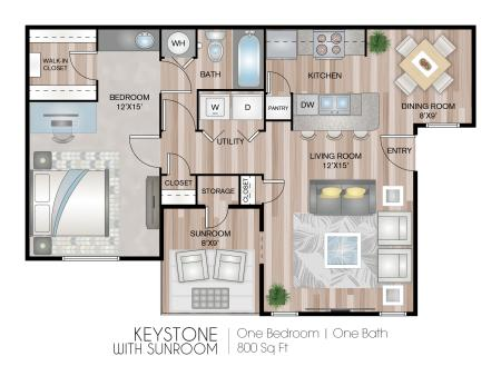 Keystone with Sunroom