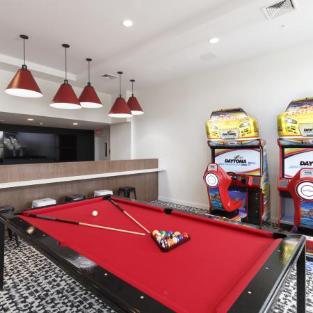 Elmsford Apartment Game Room - Apex at 290