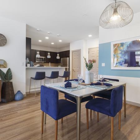 Elmsford Apartment Dining Room - Apex at 290