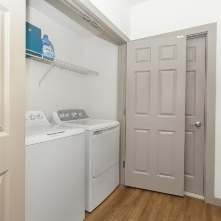 Elmsford Apartment Washer & Dryer Area - Apex at 290