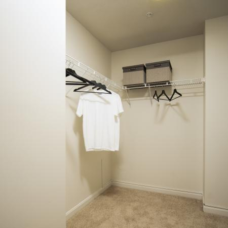 Apartments in Tewksbury Walk-In Closet - Residences at Tewksbury
