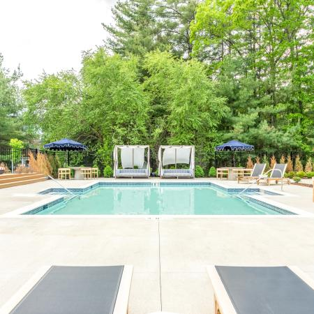Apartments in Tewksbury Swimming Pool - Residences at Tewksbury