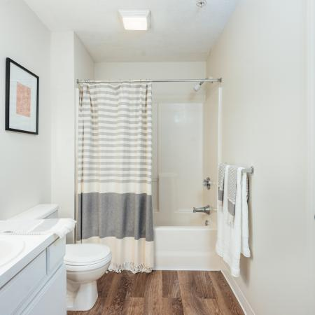 Apartments in Tewksbury Bathroom - Residences at Tewksbury