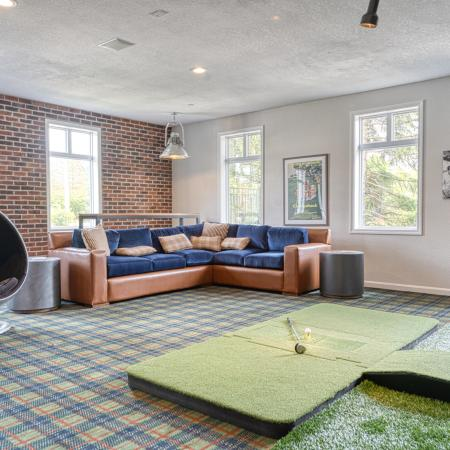 Apartments in Tewksbury Game Room - Residences at Tewksbury