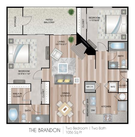 The Brandon - Bamboo