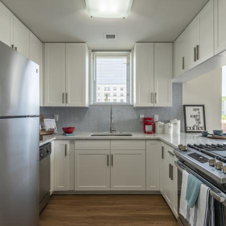 Manayunk Apartment Kitchens
