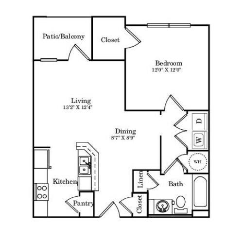 Texas Thistle Floor Plan