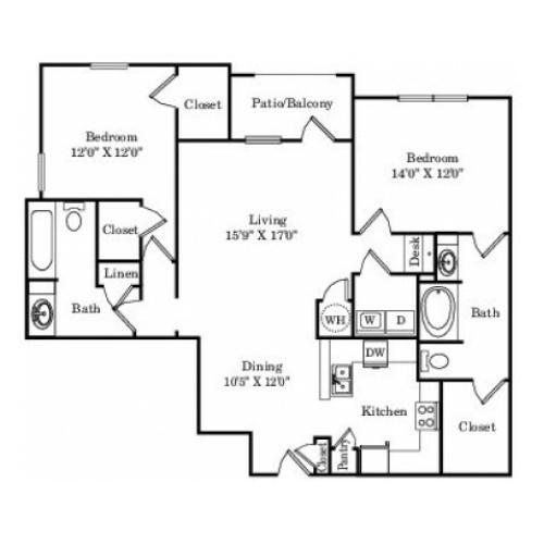 The Lady Bird Floor Plan
