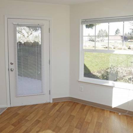 Enjoy natural light and hang out on your balcony or patio
