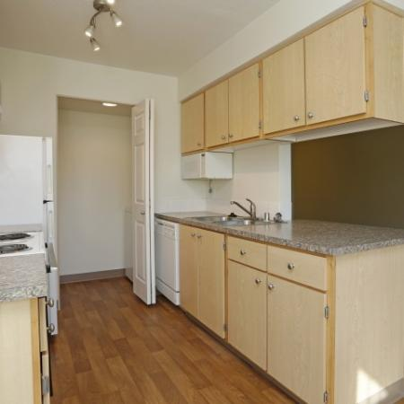 All appliances included and dishwasher