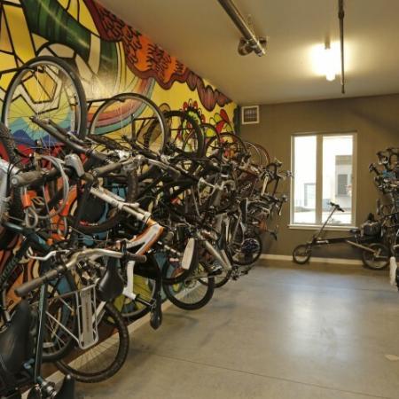 Secure Bike Racks