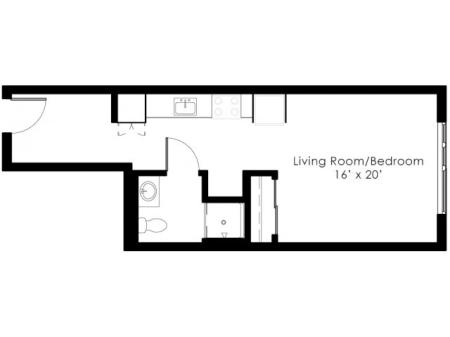floor plan with dimensions