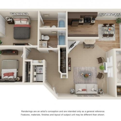 gold a floor plan