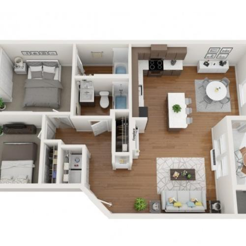 Oxford floor plan