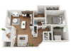 furnished sapphire floor plans