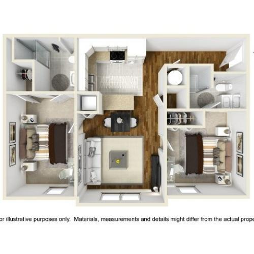 Abbotts Run Apartments - Sunset Apartment