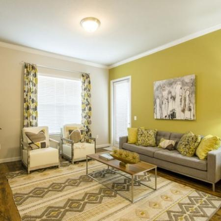 Elegant Living Room | Apartments Little Elm TX | The Estates 3Eighty