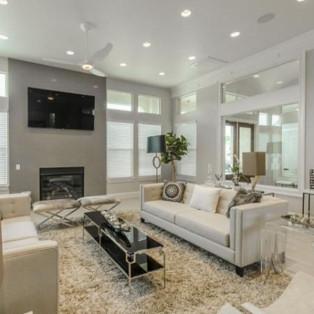 Elegant Living Room | Luxury Apartments In Conroe TX | The Grand Estates in the Forest