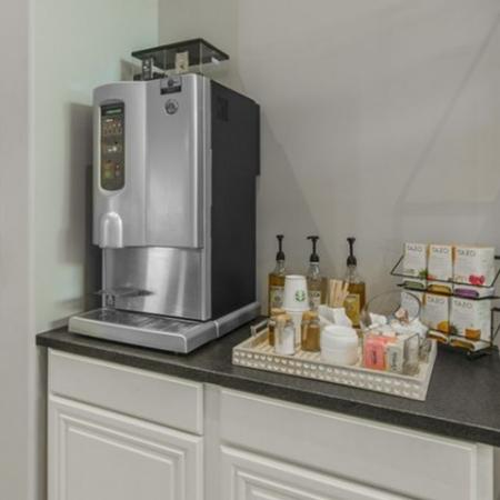 Resident Coffee Bar | Apartments In Conroe TX | The Grand Estates in the Forest