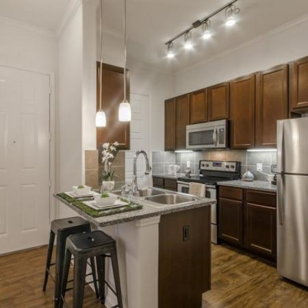 Modern Kitchen | Conroe Apartments | The Grand Estates in the Forest 2