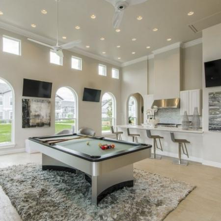 Resident Game Room | Apartments In Conroe TX | The Mansions Woodland