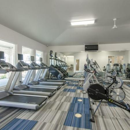 State-of-the-Art Fitness Center | Apartments For Rent Conroe TX | The Mansions Woodland