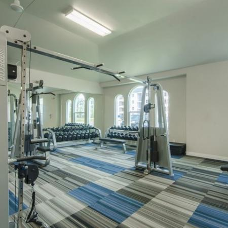 Cutting Edge Fitness Center | Conroe TX Apartments | The Mansions Woodland