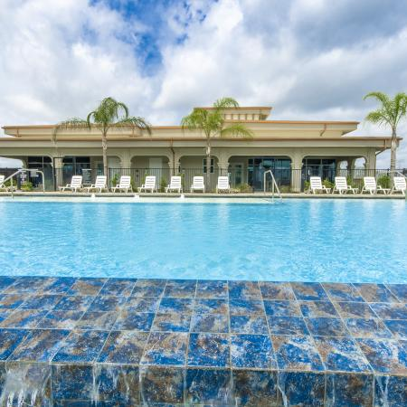 Sparkling Pool | Seabrook TX Apartments | The Towers of Seabrook