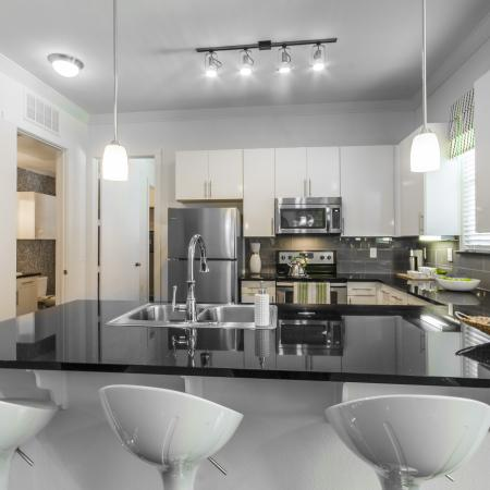 Modern Kitchen | Apartments Seabrook TX | The Towers of Seabrook