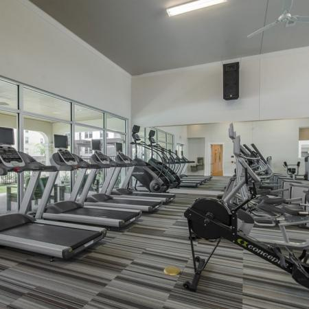 Resident Fitness Center | Apartments For Rent In Seabrook TX | The Towers of Seabrook