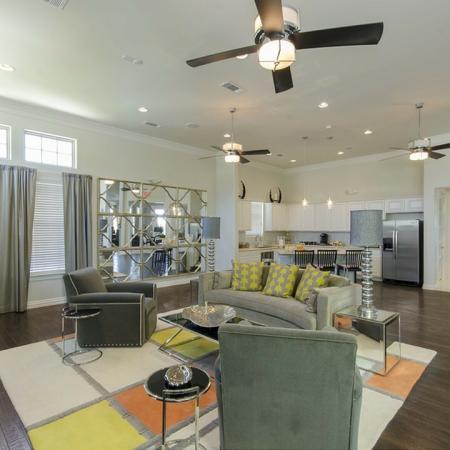Spacious Living Area | San Antonio Apartments | The Estates at Briggs Ranch
