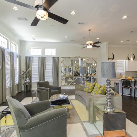 Luxurious Living Room | Apartments In San Antonio | The Estates at Briggs Ranch 2