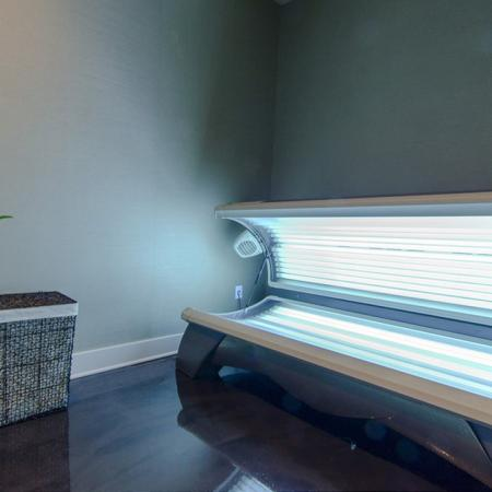 Resident Tanning Bed | Apartments In Conroe TX | The Towers Woodland